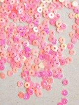 スパンコール|3mm|ピンク(オーロラ)・10g
