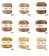 Diktas|人工シルク糸|茶系:1