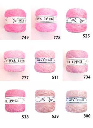 画像2: Diktas 人工シルク糸:ピンク系