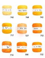 Diktas|人工シルク糸:イエロー・オレンジ系