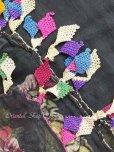 画像6: ケレス|木版アンティークオヤスカーフ(キャートヤズマ)・シルク糸
