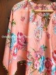 画像1: オヤのお洋服☆ポンチョ風ブラウス|さくらんぼ|コーラルピンク (1)