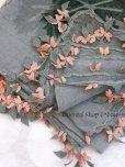 画像4: キュタフヤ・タウシャンル|アンティークイーネオヤスカーフ|シルク糸|グレーピンンク