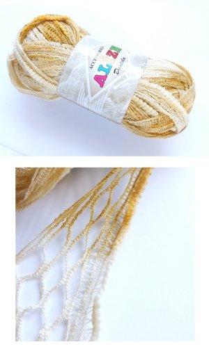 画像1: トルコの毛糸★Alize Dantela|49898