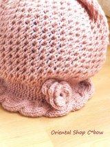 アンネの手編み★お花・毛糸の帽子|アンティクローズ