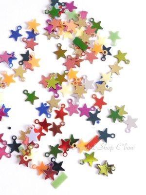 画像1: スパンコール|お星さま|ミックス