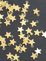 プル|鉄・スパンコール|星型|ゴールド|10g