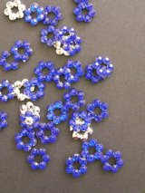 ラインストーン芯・ブルー|ミニ