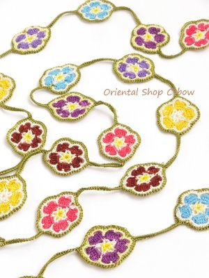 画像2: C-bowオリジナル・春色☆カラフル桜ラリエット