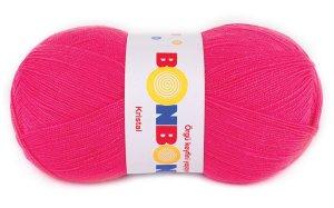 画像2: ボディタオル[リフ・エコたわし]製作毛糸|NAKO|BonbonKristal|396(蛍光)