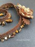 画像6: シルクイーネオヤネックレス:天然石ブラウン系