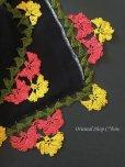 画像3: バルッケシル:大判トゥーオヤスカーフ ブラック×黄色ピンク