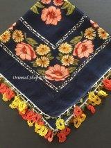 バルッケシル:大判トゥーオヤスカーフ|濃紺×2色