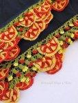 画像5: バルッケシル:大判フィルケテオヤ・トゥーオヤスカーフ|ブラック×赤黄