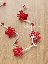 ヴィンテージボンジュックオヤ単体|カッパドキア|赤|花