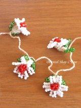 ヴィンテージボンジュックオヤ単体|ナムルン|白い花びらの花
