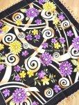 画像8: バルッケシル:大判トゥーオヤスカーフ|ブラック×紫黄