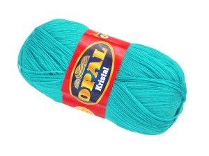 画像1: ボディタオル[リフ・エコたわし]製作毛糸・青ターコイズブルー