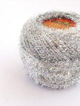 Kaplan|オヤ・刺繍糸|メタリックシルバー