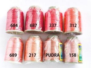 画像3: Leylak|6本撚り中糸|PUDRA