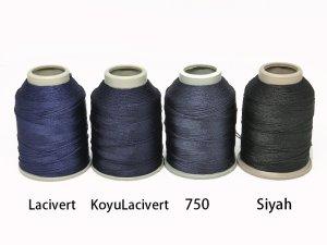 画像3: Leylak|6本撚り中糸|Lacivert