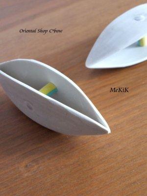 画像1: 手彫りのメキッキオヤ(タティング)用シャトル・大