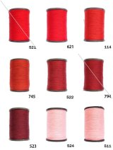MUZ撚り済み:人工シルク糸|3本撚り糸|8