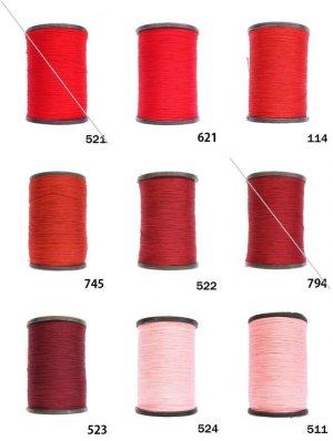 画像1: MUZ撚り済み:人工シルク糸 3本撚り糸 8