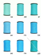 MUZ撚り済み:人工シルク糸|3本撚り糸|15
