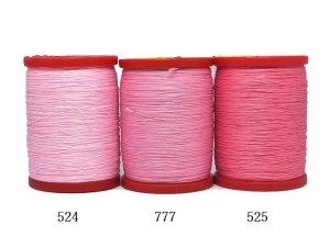 画像2: MUZ撚り済み:OYALI人工シルク糸|4本撚り糸|524