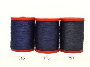 画像2: MUZ撚り済み:OYALI人工シルク糸|4本撚り糸|796