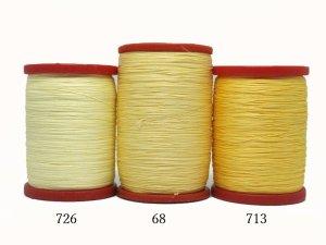画像2: MUZ撚り済み:OYALI人工シルク糸|4本撚り糸|726