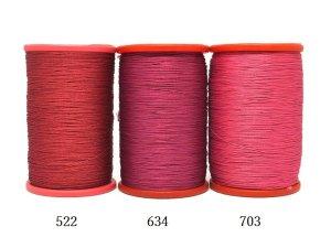 画像2: MUZ撚り済み:OYALI人工シルク糸|4本撚り糸|703