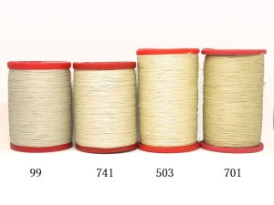 画像2: MUZ撚り済み:OYALI人工シルク糸|9本撚り糸|66(99)
