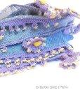 画像2: アイドゥン|アンティークオヤスカーフ|シルク糸|アンティークブルー