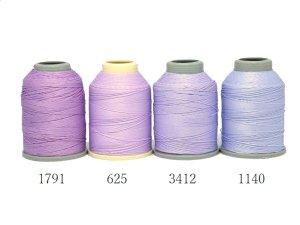 画像2: Leylak|4本撚り人工シルク糸|1140