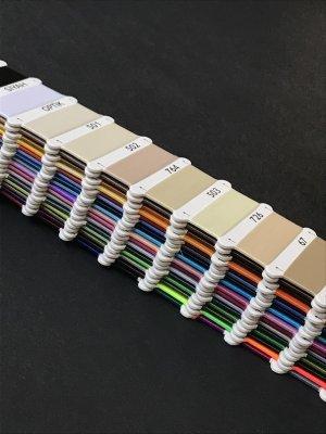 画像2: MUZ撚り済み:OYALI人工シルク糸|色見本帳