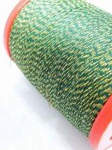 MUZ撚り済み:OYALI人工シルク糸|4本撚りラメ|550×ゴールド