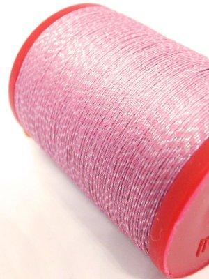 画像1: MUZ撚り済み:OYALI人工シルク糸|4本撚りラメ|538×シルバー