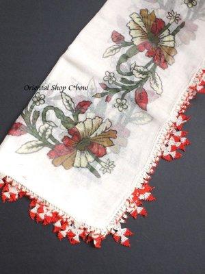 画像3: ナウルハン アンティークイーネオヤスカーフ シルク糸 ゲリンパルマーウ(花嫁の指)