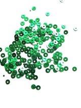 超特価★スパンコール|3mm|グリーン(ホログラム)・40g