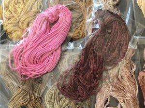画像4: シルク糸(精錬)|21本セット