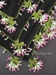 画像3: 珍:ブルサ|木版非常に珍しい|アンティークオヤスカーフ・シルク糸