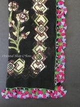 ブルサ|木版アンティークオヤスカーフ・シルク糸