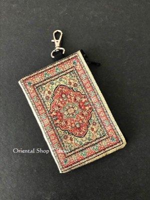 画像2: トルコのポーチ・キーケース|ミニ|トルコ絨毯柄|D