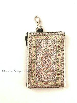 画像1: トルコのポーチ・キーケース|ミニ|トルコ絨毯柄|C