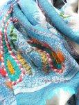 画像4: ウール 三重トリプル★手刺繍やわらかストール