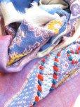 画像6: ウール|三重トリプル★手刺繍やわらかストール