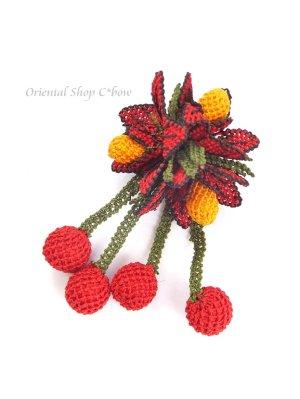 画像3: シルクイーネオヤブローチ|揺れる実|寄せ植え