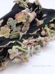 画像4: キュタフヤ・タウシャンル|アンティークイーネオヤスカーフ|シルク糸|水仙